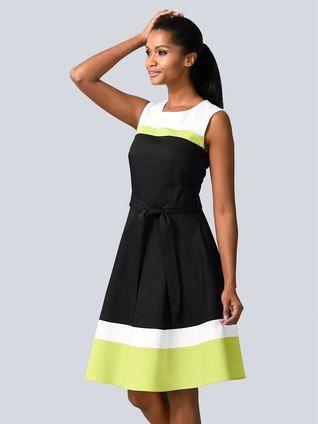 Kleider 2019 Online Kaufen Schone Damenkleider Alba Moda Modestil Kleider Damen Sommerkleid