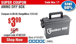 Ammo Dry Box Harbor Freight Tools Ammo Tongue And Groove