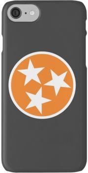 Tennessee Orange Tristar iphone case