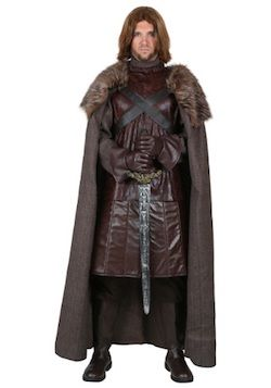 Adult Mens Noble King Medieval Halloween Joffrey Game of Thrones Costume Fancy