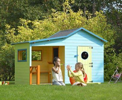 cabane+b.bmpy.bmp (407×336)   cabane   Maisonnette enfant ...