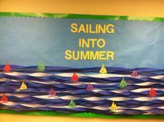 Summer Classroom Decorations Ideas : Ocean fish water treasure bulletin board lesson planning ideas
