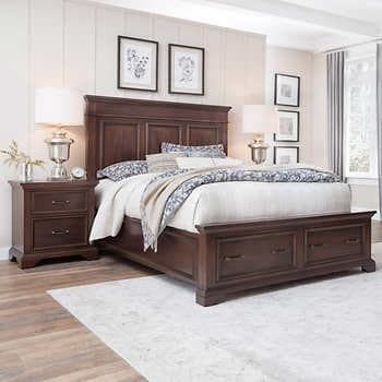 Https Images Costco Static Com Imagedelivery Imageservice Profileid 12026540 Imageid 2000294 847 1 Recipename 35 In 2020 King Storage Bed Storage Bed Bedroom Design
