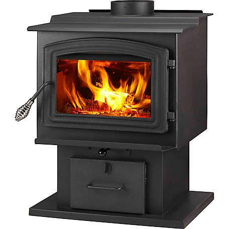 Woodpro Ws Ts 1500 Epa Certified Wood Stove With Blower Heats Up To 1 000 Sq Ft At Tractor Supply Co Wood Stove Small Wood Stove Wood Burning Stove