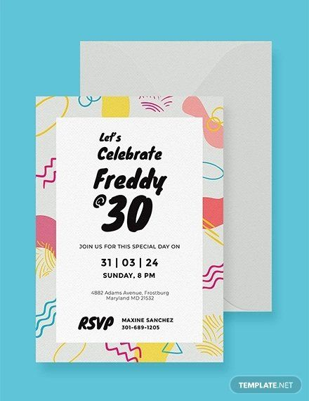 Google Docs Birthday Invitation Template Best Of 19 Birthday Cards Psd A Party Invite Template Free Birthday Invitation Templates Birthday Invitation Templates