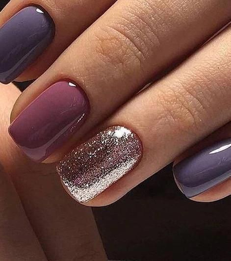 Unique And Beautiful Winter Nail Designs 09 Luxurynaildesigns