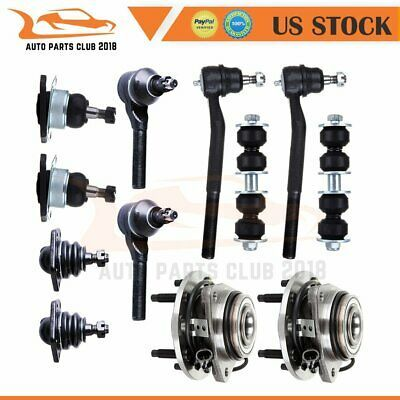 Advertisement Ebay Qty 12 Front Wheel Bearing Hub Suspension Parts For 2001 2002 Chevrolet Gmc Gmc Chevrolet Chevy Trailblazer