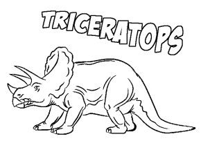 Triceratops Coloring Page Dinosaur Coloring Pages Sailor Moon