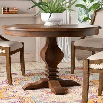 Magaw Solid Wood Dining Table Solid Wood Dining Table Wood
