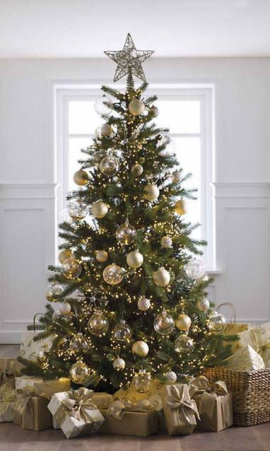 15 Very Inspiring Decorative Gifts That You Can Write Down In Your Letter To The Three Kin Pretty Christmas Trees Rustic Christmas Tree Elegant Christmas Trees
