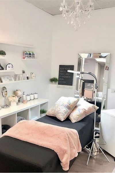 Well Equipped Spa Room Esthetician