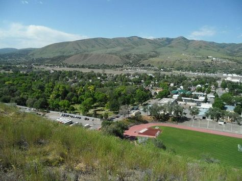 view of South Pocatello (photo by Walter Mallette)