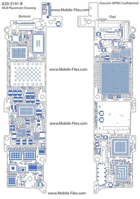 Diagram Of Iphone 5s Circuit Board Awesome In 2020 Circuit Board Iphone 5s Ifixit