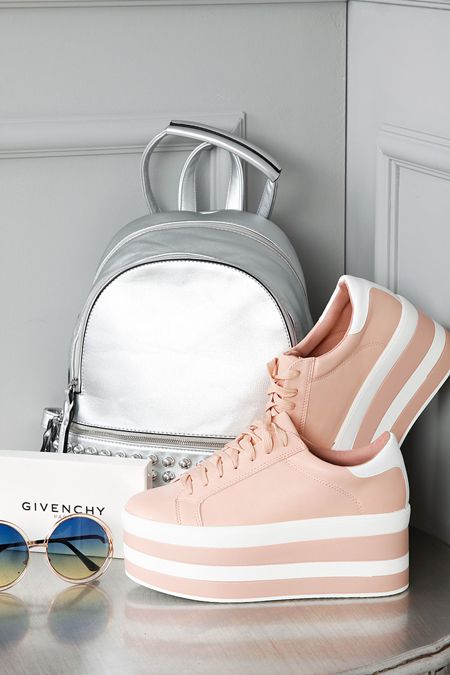 Buty Na Koturnie Vito Buty Butynakoturnie Pink Pinkshoes High Highshoes Stylization Stylizationshoes Silver Si High Shoes Pinkshoes Silver Backpacks