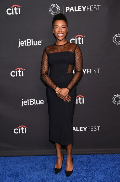 Samira Wiley attends The Paley Center For Media's 35th Annual PaleyFest Los Angeles with 'The Handmaid's Tale.'
