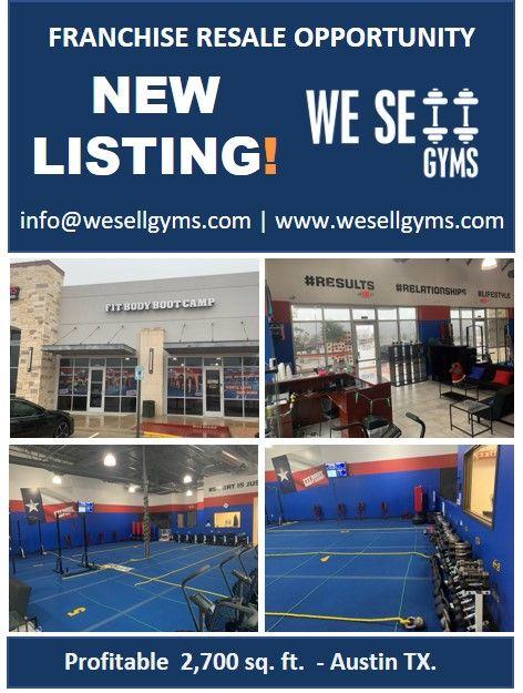Austin Tx 2 700 Sq Ft Gym Workouts Gym Franchise Gym