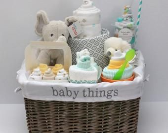 Diy Baby Shower Gift Basket Ideas For Girls With Images Diy