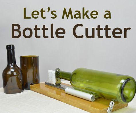 Diy Glass Bottle Cutter Glass Bottle Diy Glass Bottle Cutter