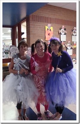 Book Character Day 2012! @Heather Creswell Doss Stuart (pinkalicious, silverlicious and purplicious!)