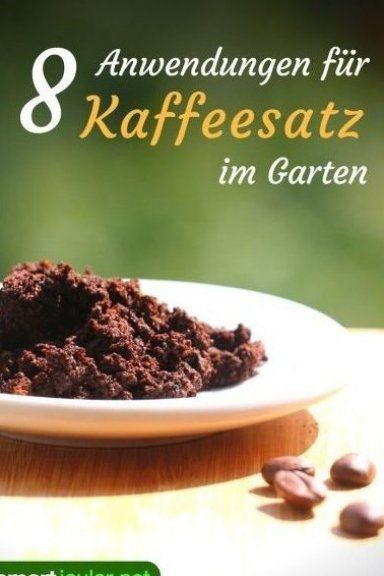 Mit Kaffeesatz Kannst Du Auf Nat Rliche Weise D Ngen Sch Dlinge Vetreiben Und Uses For Coffee Grounds Container Gardening Vegetables Fall Garden Vegetables