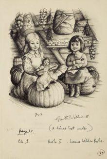 Garth Williams Illustrator Little House In The Big Woods