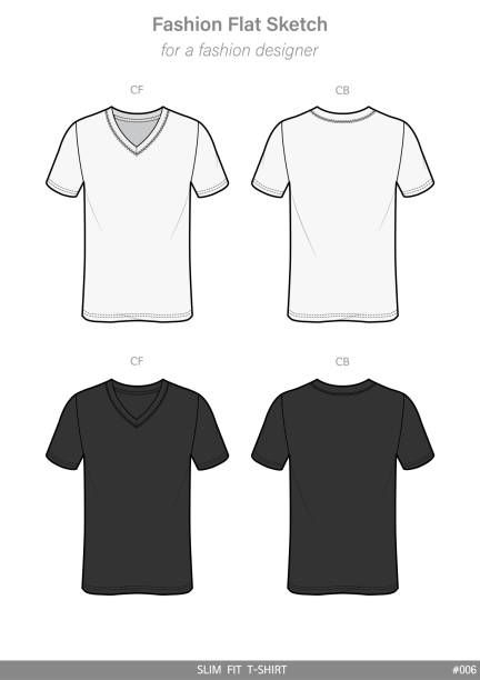 Vector Apparel Templates And Fashion Flat Sketches Tee Shirt Fashion Fashion Flats Shirt Design Inspiration