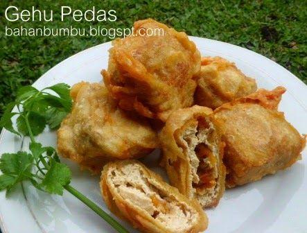Resep Gehu Pedas Bandung Hot Jeletot Resep Resep Masakan Indonesia Makanan Dan Minuman