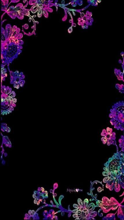 25 Super Ideas For Wallpaper Iphone Mandalas Beautiful Wallpaper Iphone Neon Neon Backgrounds Flower Phone Wallpaper