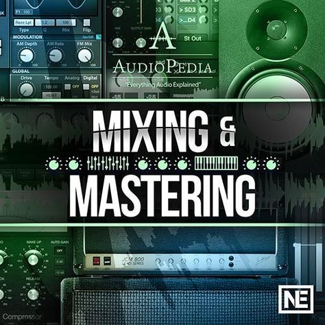 Mixing And Mastering Audiopedia 108 Music Software Music Recording Studio Music Mixing