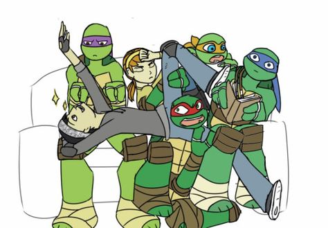 TMNT 2012 Draw Your Squad Meme