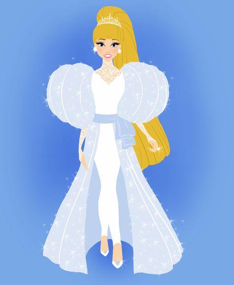 Fashion Queens: Cinderella by Wcean