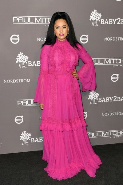 Ayesha Curry attends the 2018 Baby2Baby Gala Presented by Paul Mitchell at 3LABS.