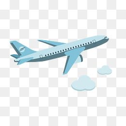 silhouette airplane png clipart