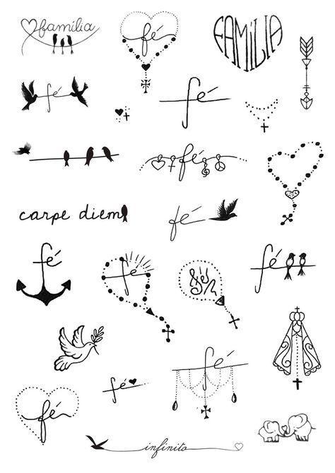 Motivstempel Herz Herzen Valentin Herz Tattoo