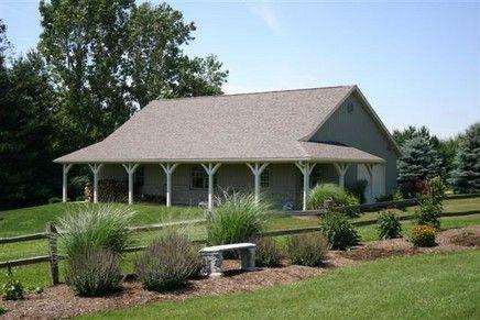 40 X 60 Pole Barn Home Designs