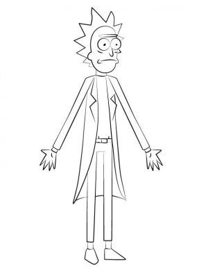 Rick And Morty Coloring Pages Printable Free Coloring Sheets Rick And Morty Coloring Books Rick And Morty Stickers