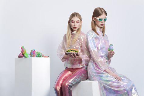 scandebergs:  HONEYPLUTO -SCANDEBERGS+ Hanna Schwab @ IMG London styling:Elisa Voto set design: Amy Exton make up: Francesca Brazzo  mor...