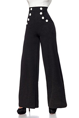 Dancing Days by Banned Wide Legs Hose INDIANA TROUSERS 4092