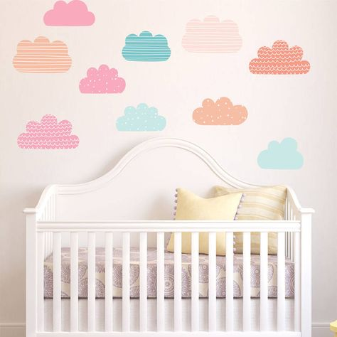 pastel clouds wall stickers | pinterest | wall sticker, pastels and