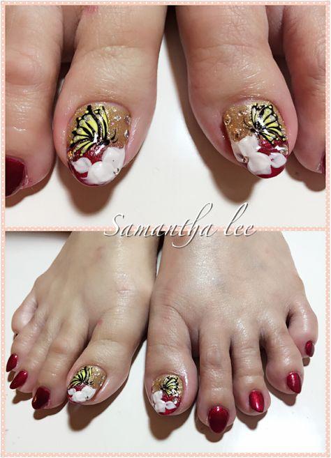 Summer Nail Gel Pedicure Summer Nails Toenail Art Designs