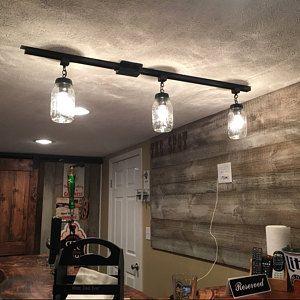 Kellieton Lighting Seeded Five Light Chandelier Pendant Etsy Pendant Track Lighting Antique Bulbs Modern Light Fixtures