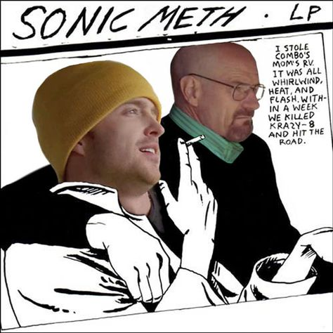 'Sonic Meth (Sonic Youth x Breaking Bad)' by sarahnewhouse