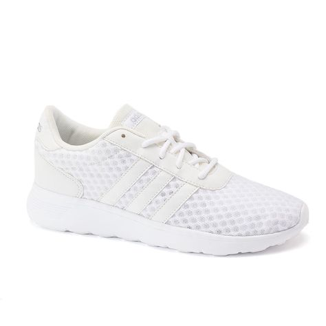 sale retailer e2630 abc2d ADIDAS Women s Shoes - Adidas NEO Cloudfoam Lite Racer Womens Shoes, Size   7.5, White - ADIDAS Women s Shoes