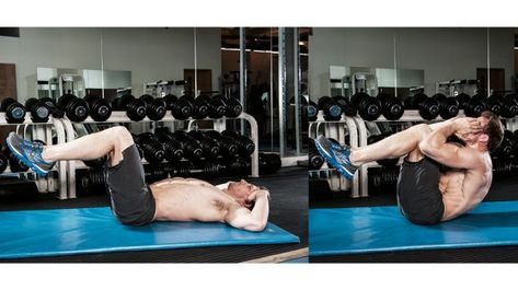 The Best Abs Workout: Circuits For Upper Abs, Lower Abs, And Obliques And Core