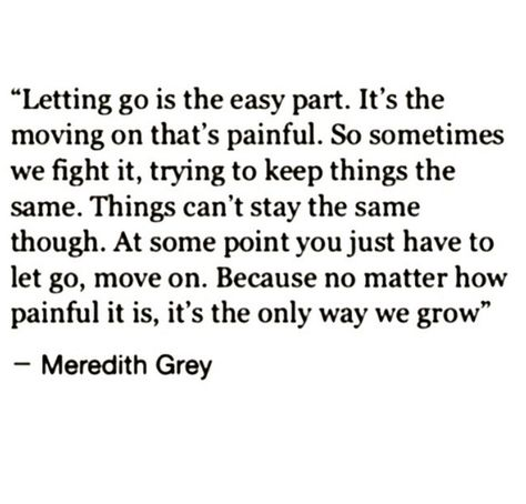 Pain is how we growd