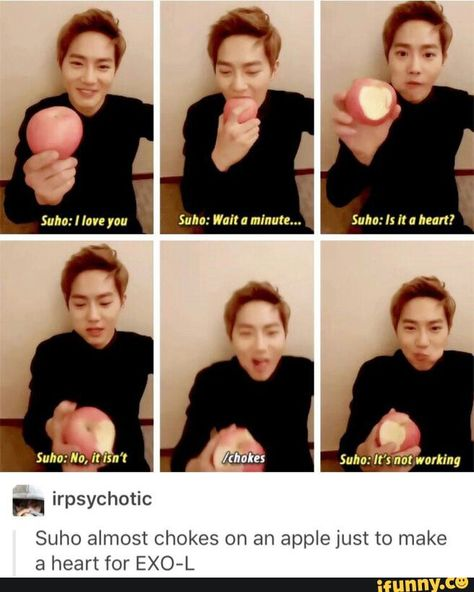 Reasons I love him…but be careful next time Junmyeonie