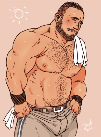 toon naked gay Bear
