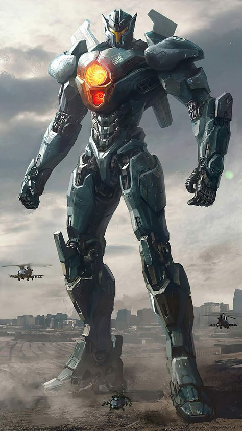 Gipsy Avenger from Pacific Rim - iPhone Wallpapers