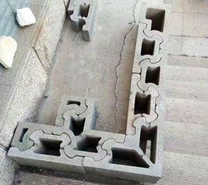 Habiterra Blocks Concrete Block Walls Interlocking Bricks Concrete Block Retaining Wall