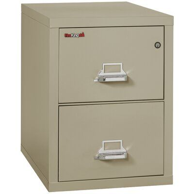 Fireking Fireproof 2 Drawer Vertical File Cabinet Color Pewter Lock E Lock Size 20 81 W In 2020 Filing Cabinet Cabinet Drawers